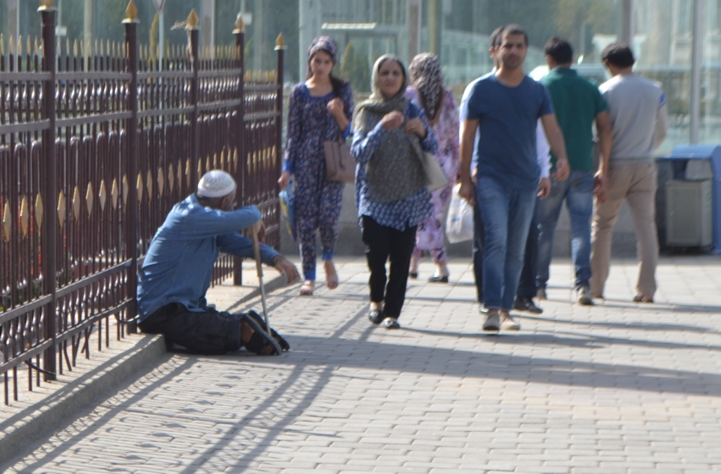 Safarali Mendiant Tadjikistan Douchanbé