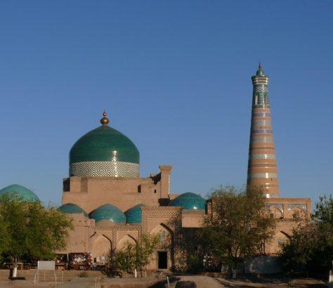 Khiva Ouzbékistan Mosquée Madrasa
