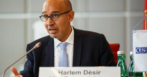 Harlem Désir Liberté Presse Médias Ouzbékistan
