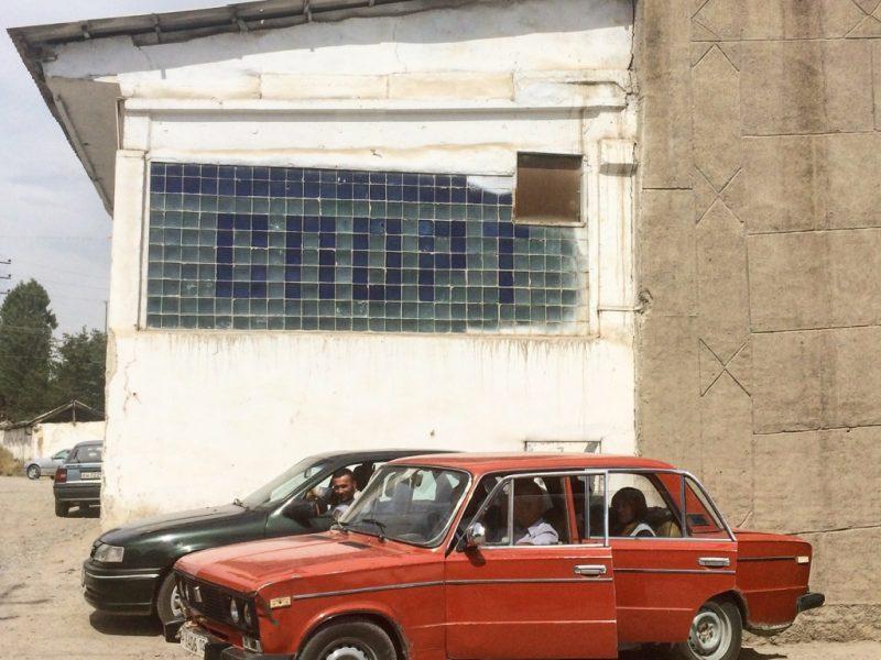 Lada Istaravchan Tadjikistan Voiture