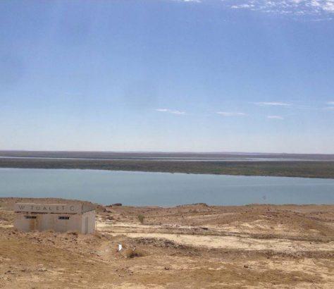 Khiva Boukhara Ouzbékistan Route Lac Toilettes