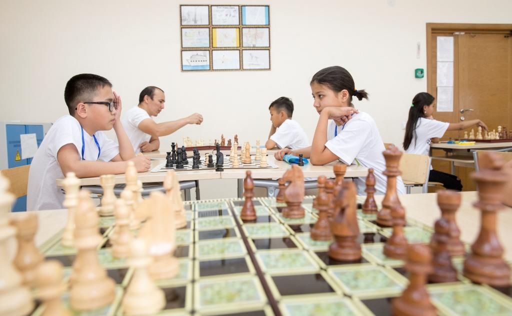 Echecs Sport Jeu Kazakhstan Enfants Compétition