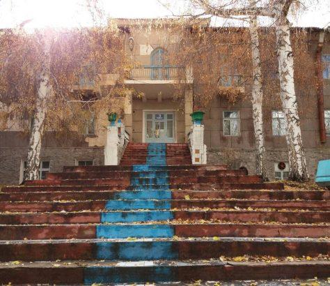 Yssyk Koul Sanatorium Djety Ogouz Hiver Kirghizstan