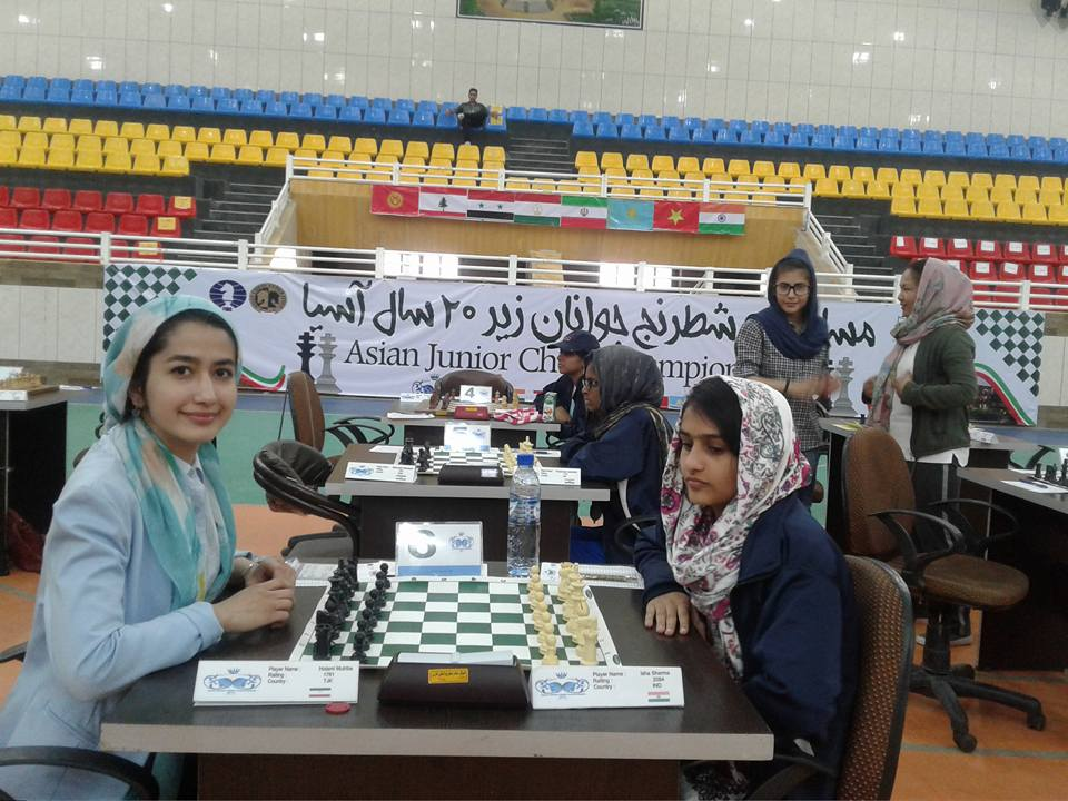 Echecs Sport Jeu Mutriba Hotami Tadjikistan Tournoi Enfant