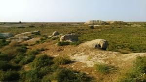 Turkménistan Refuge à chameaux Duetchioken Ruines