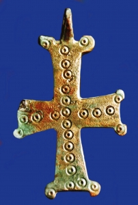 Croix Nestorius Nestorienne Turkménistan Kharaba-Kochk Archéologie
