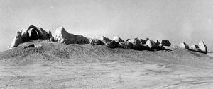 Kharaba-Kochk Palais Turkménistan Fouilles 1951