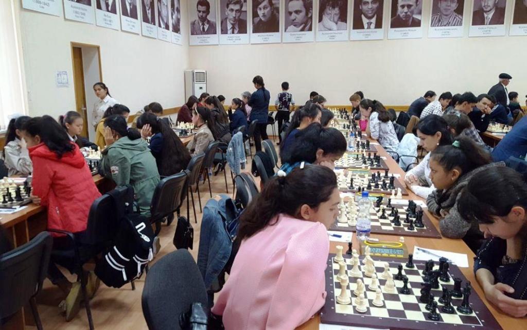 Echecs Sport Jeu Ouzbékistan Compétition Enfants
