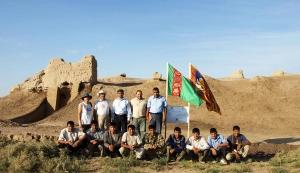 Archéologues Turkménistan 2011 Kharaba-Kochk