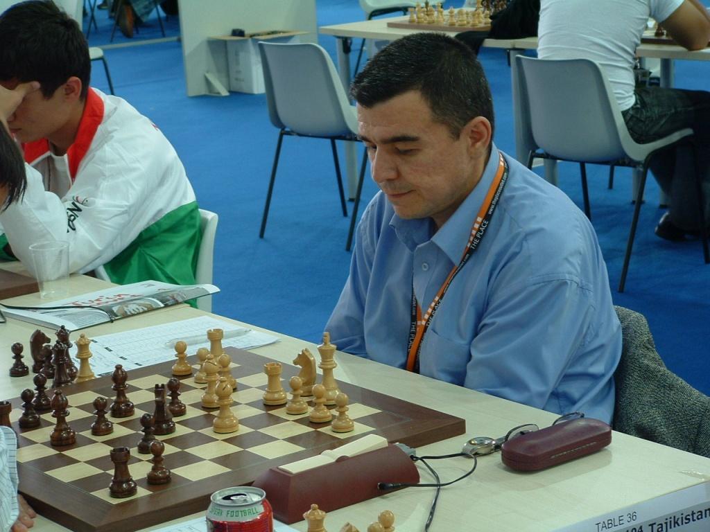Echecs Sport Jeu Tadjikistan