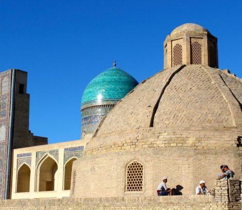Boukhara Chantier Mosquée Madrasa
