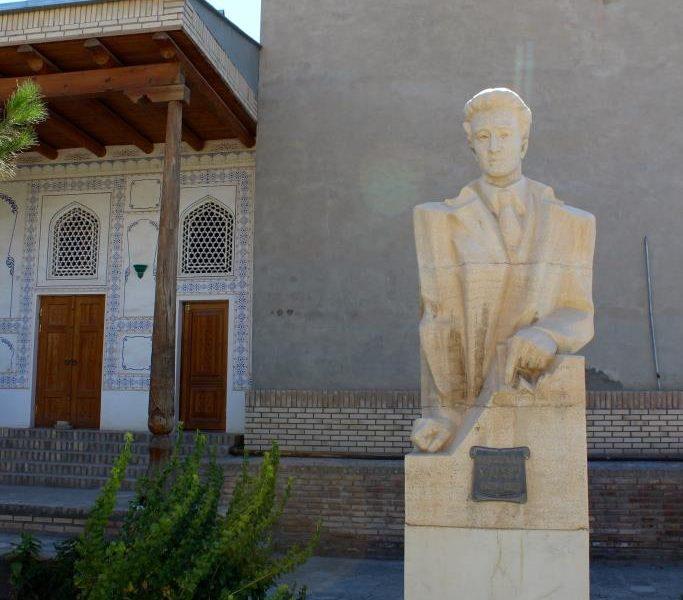 Fayzulla Khodjaïev Ouzbékistan Buste Boukhara