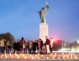 Rassemblement Violences Femmes Bichkek Novembre
