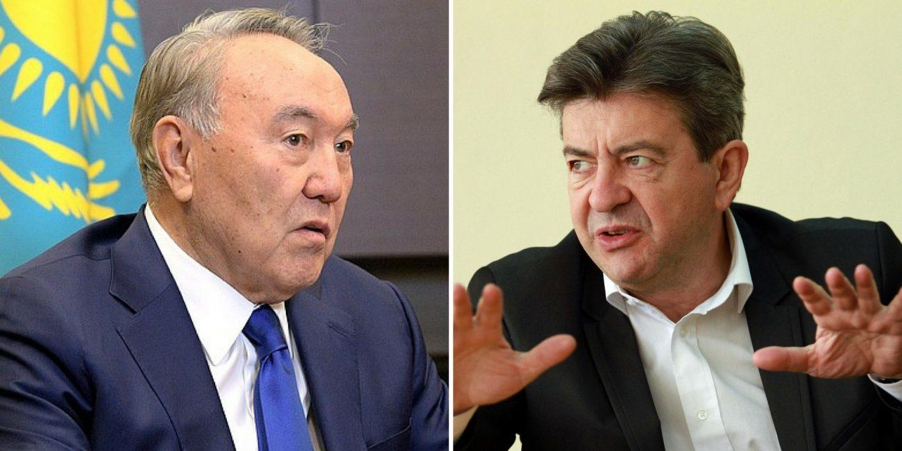Intervention Parlement Député Mélenchon Régime Nazarbaïev Président Kazakhstan