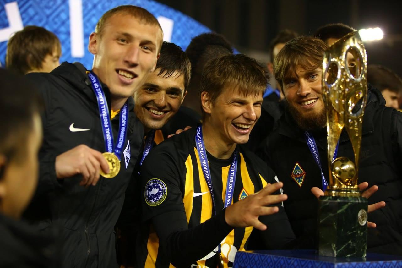 Joueurs Kairat Almaty Deuxième Championnat