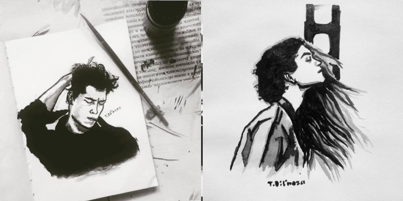 Portraits Noir Blanc