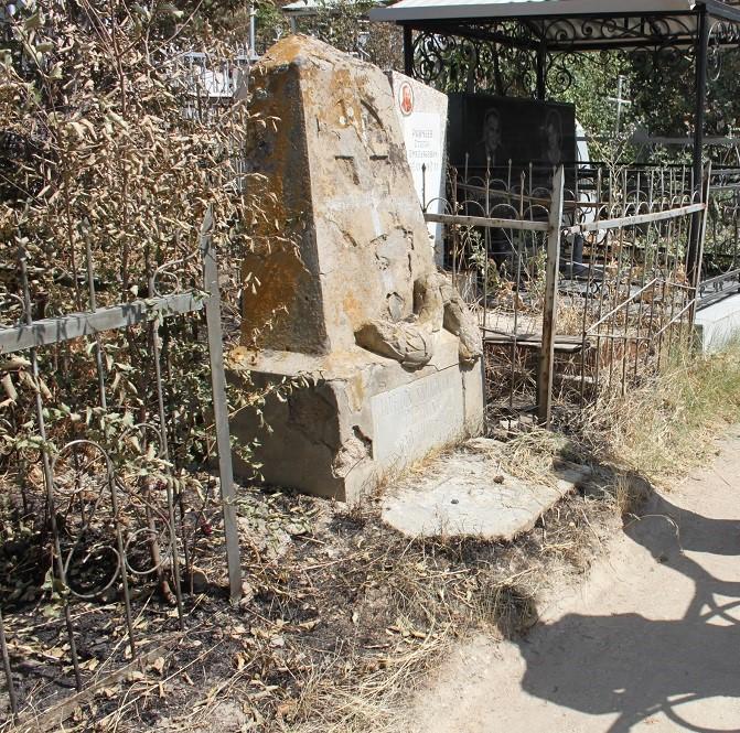 Tombe Prisonnier Guerre Samarcande Ouzbékistan
