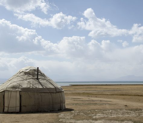 Kirghizstan Yourte Son Koul Lac Nomades