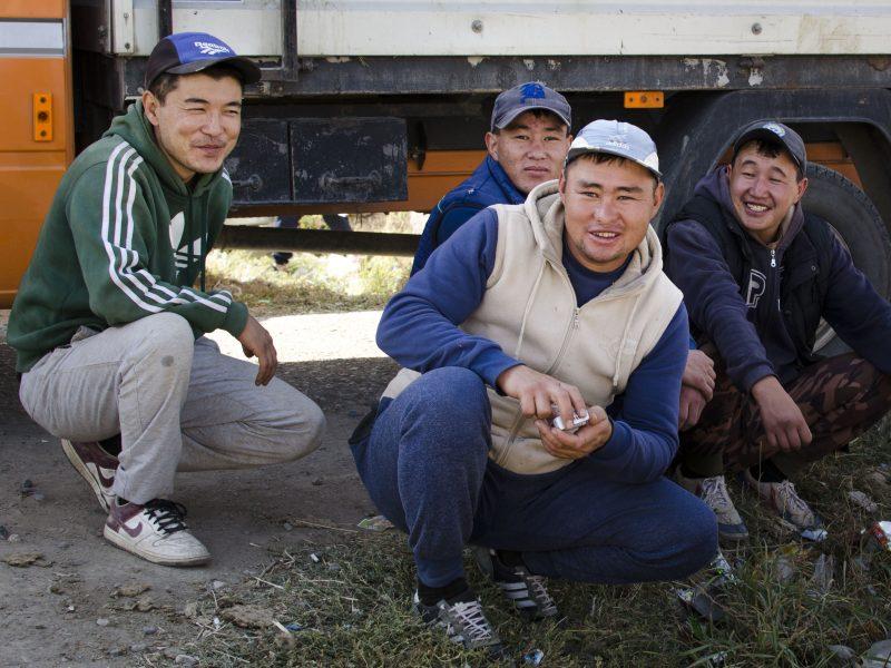 Kirghizstan Squat Kirghiz Coutume Asie centrale