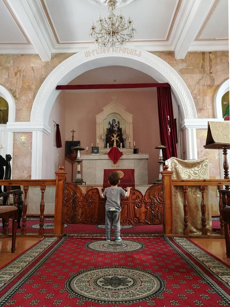 Arménie Religion Eglise Samarcande Ouzbékistan