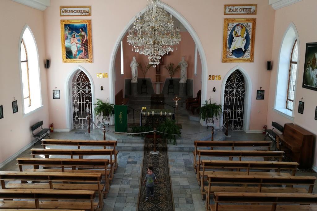 Samarcande Ouzbékistan Religion Catholicisme Eglise