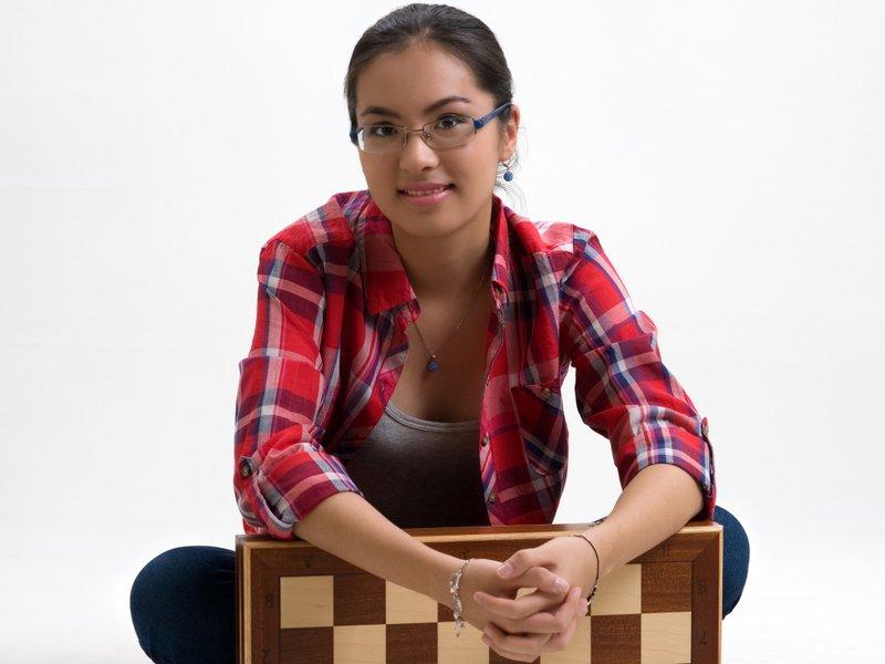 Dinara Saduakassova Kazakhstan Echecs Sport Jeu
