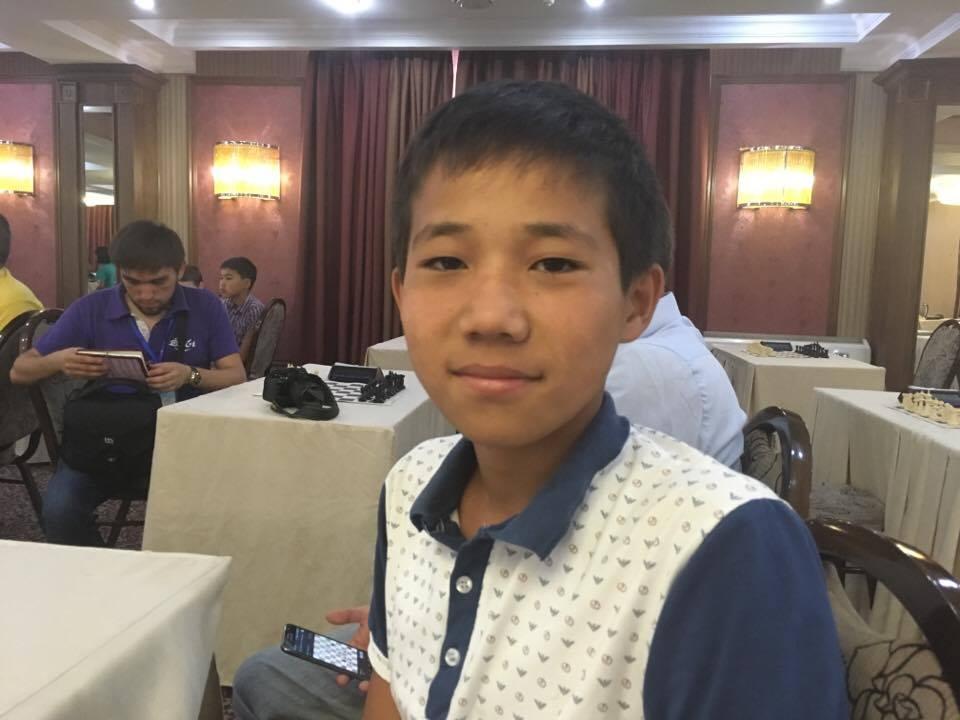 Echecs Sport Jeu Kirghizstan Ruslan Sedbekov