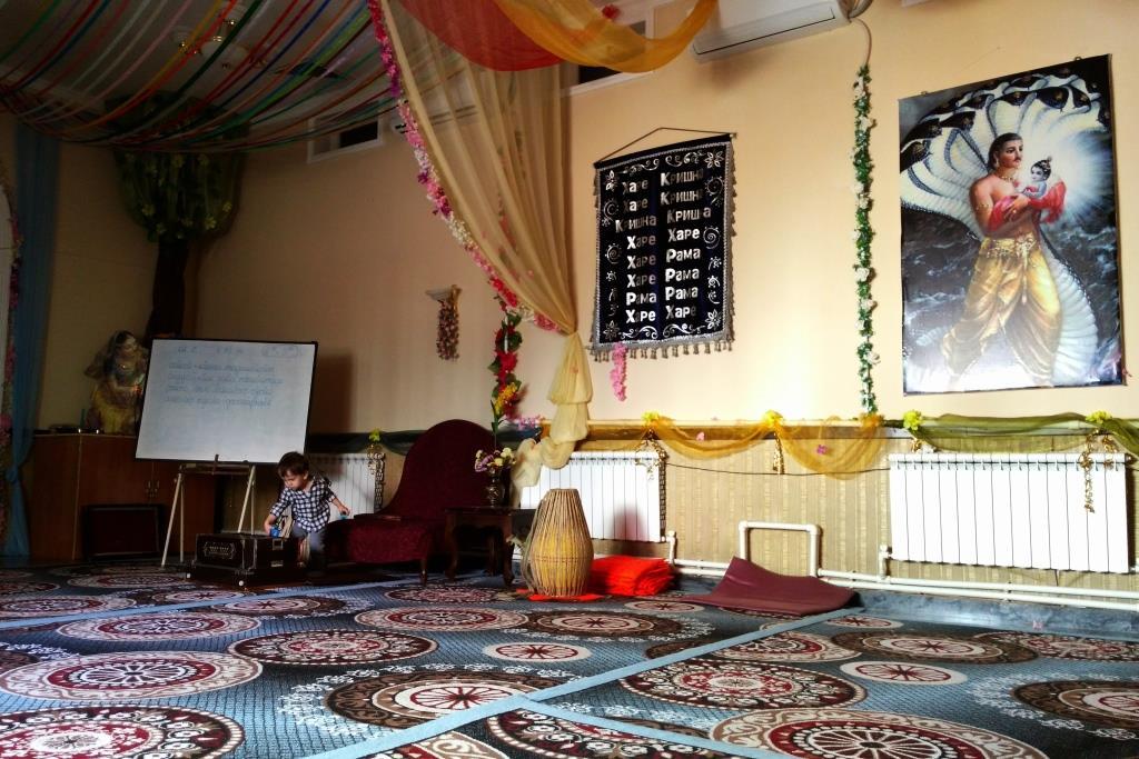 Krishna Religion Tachkent Ouzbékistan Temple