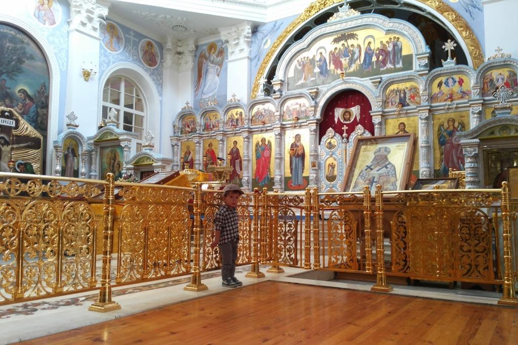 Eglise Orthodoxe Tachkent Ouzbékistan Religion Christianisme