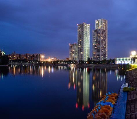 Vue Astana Capitale Kazakhstan