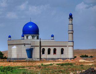 Mosquée Construction Kirghizstan