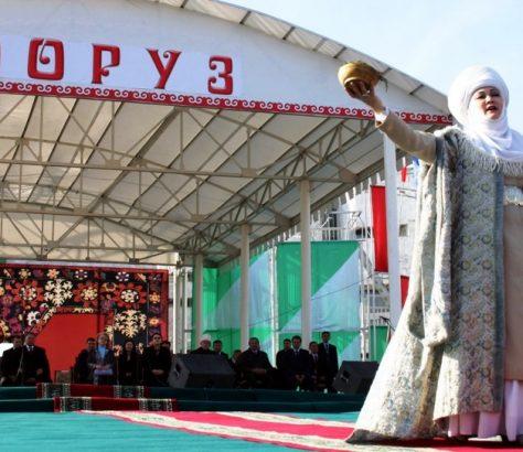 Animation Fête Norouz Kirghizstan