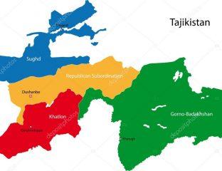 Carte Expansion Idées Tadjikistan