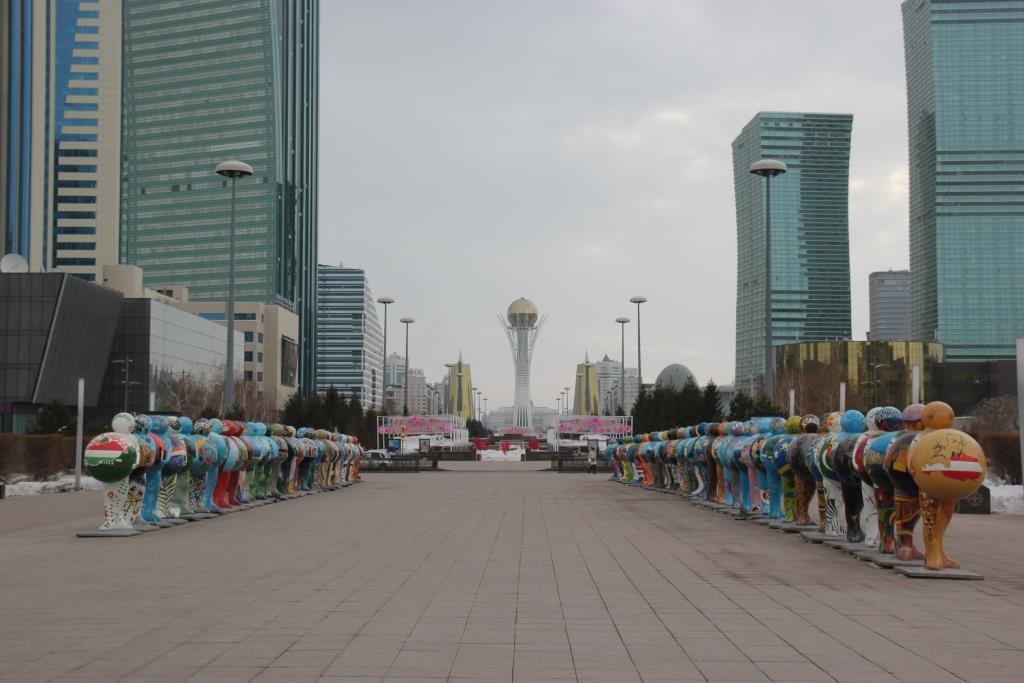 Astana Capitale Rythme EXPO 2017 Énergies Futur