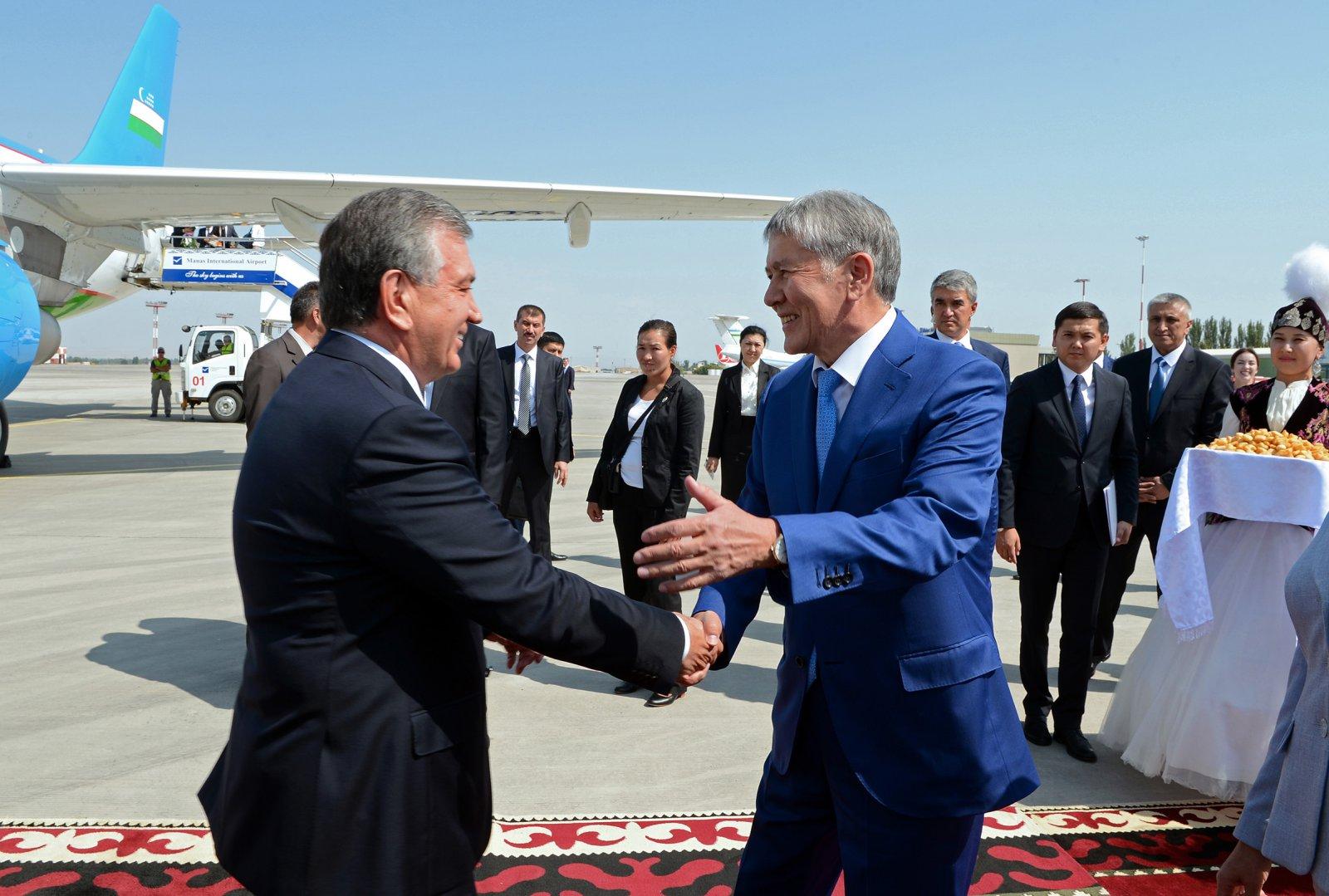 Visite Chavkat Mirzioïev Homologue Almazbek Atambaïev