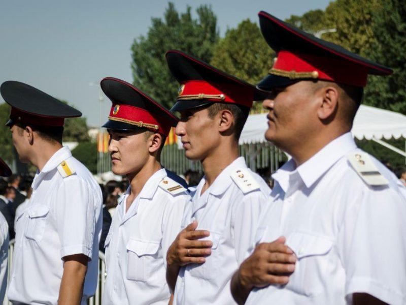 Kirghizstan Policier Hymne Indépendance