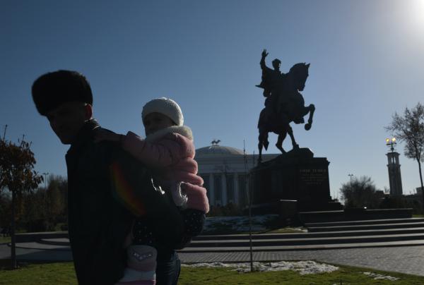 Ouzbékistan Tachkent Monument Tamerlan Timur