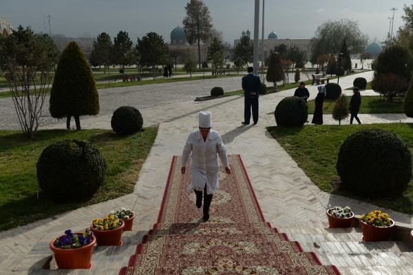 Ouzbékistan, élection présidentielle Vote