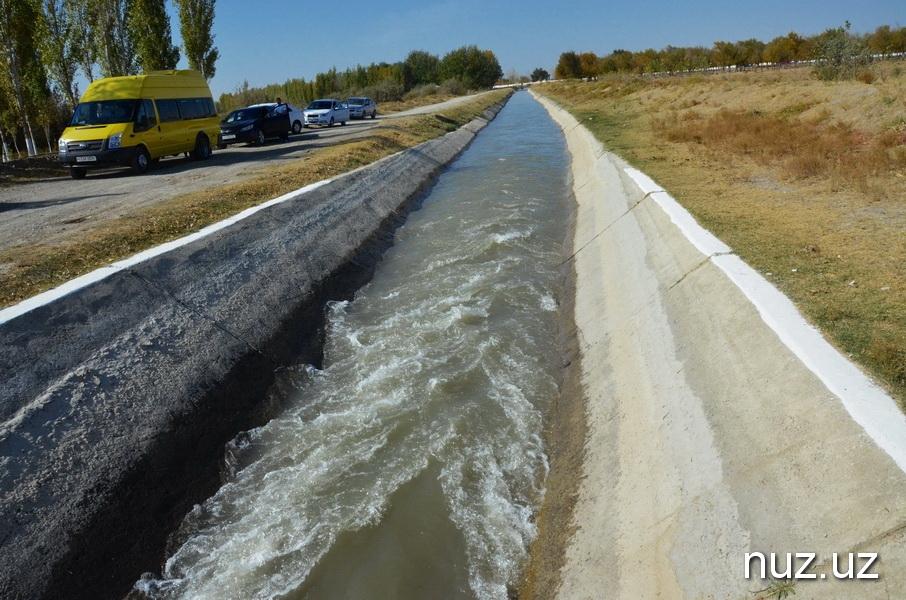 Samarcande Canal Ouzbékistan Bad Bad Irrigation