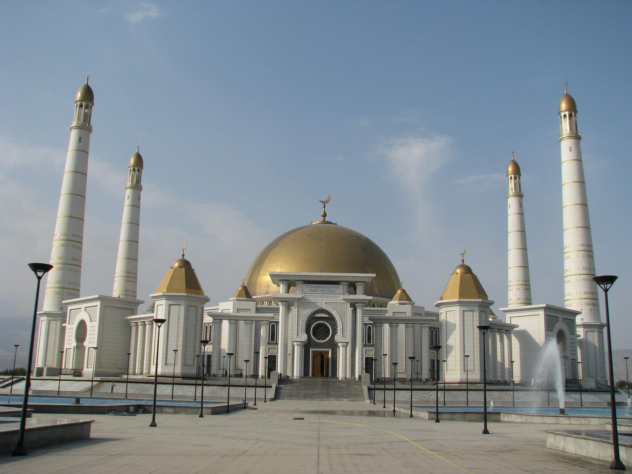 Gypjak Mosquée Turkménistan Türkmenbaşy Ruhy