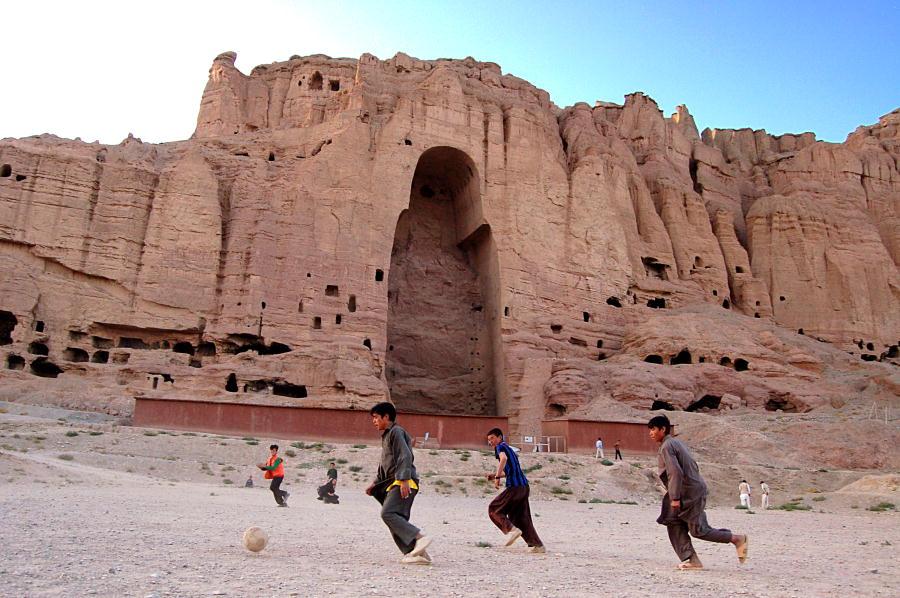 Afghanistan Football Balkh Buddah Taliban