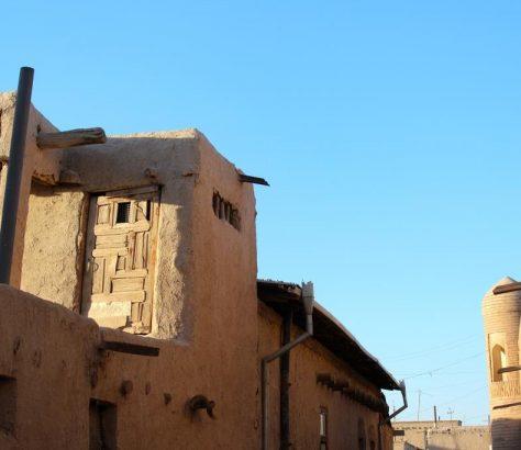 Khiva Ouzbékistan Coucher de soleil Terre