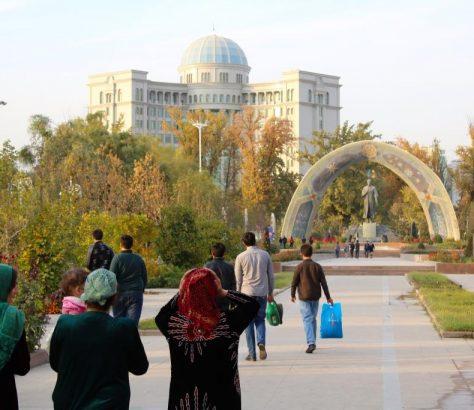 Parc Rudaki Tadjikistan Douchanbé