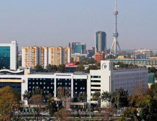 Vue Tachkent Capitale Ouzbékistan