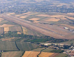 Vue Aéroport Namangan Est Ouzbékistan