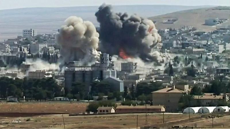 Bataille Etat islamique Syrie