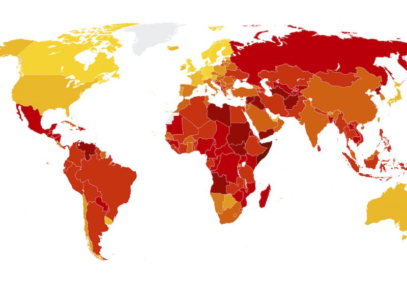Transparency International Corruption Perception Index Classement 2017