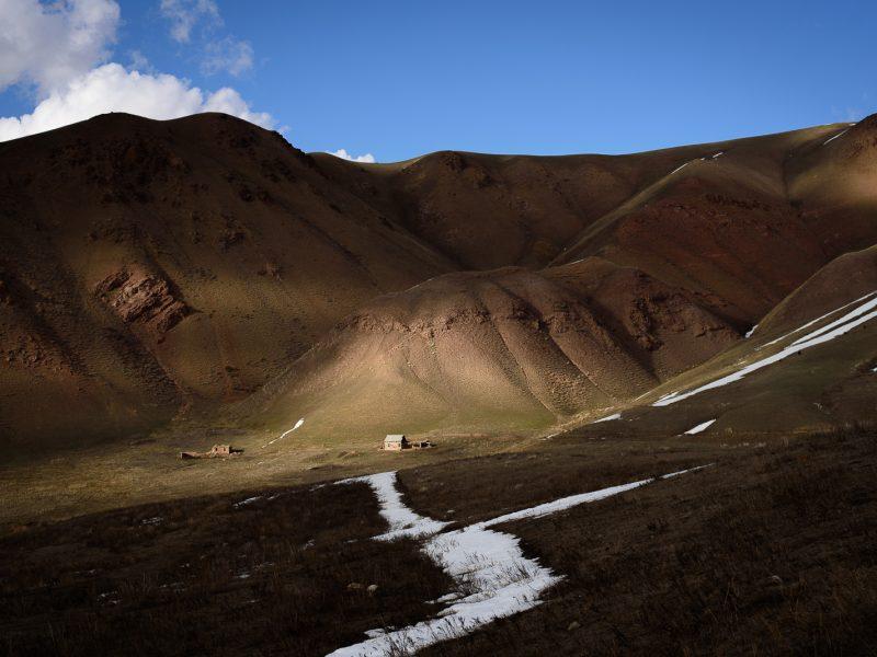 Montagnes Song Koul Kirghizstan