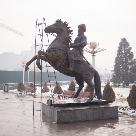 Statue Ghiyath al-Din Mouhammad Tadjikistan Douchanbé