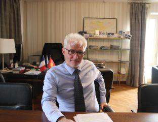 Excellence Monsieur Michael Roux Ambassadeur France Kirghizstan